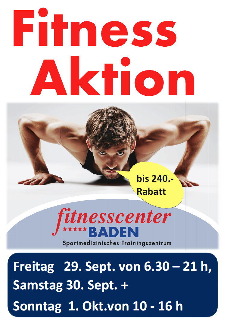 FITNESS AKTION